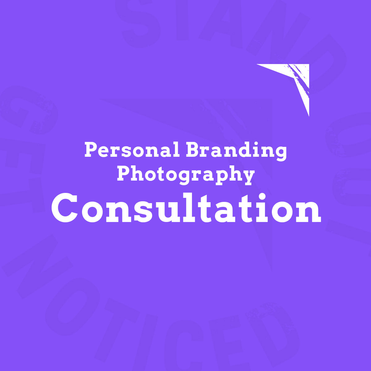 Personal Branding Photography Consultation