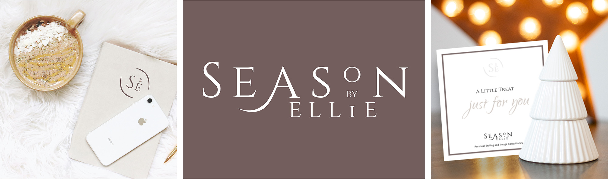 Brand and Identity for Personal Stylist and Image Consultant, Season by Ellie