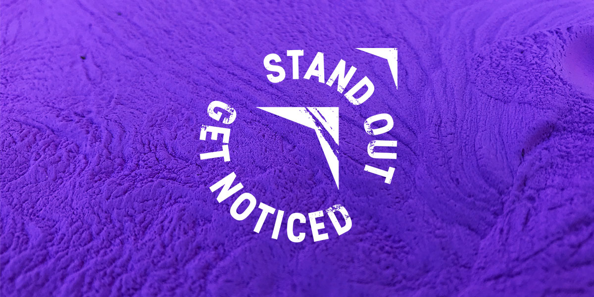Our story - Stand Out Get Noticed Logo