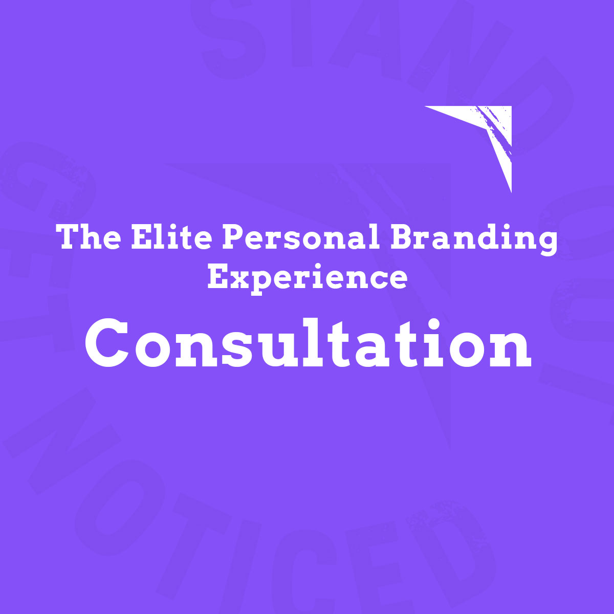 The Elite Personal Branding Experience Consultation