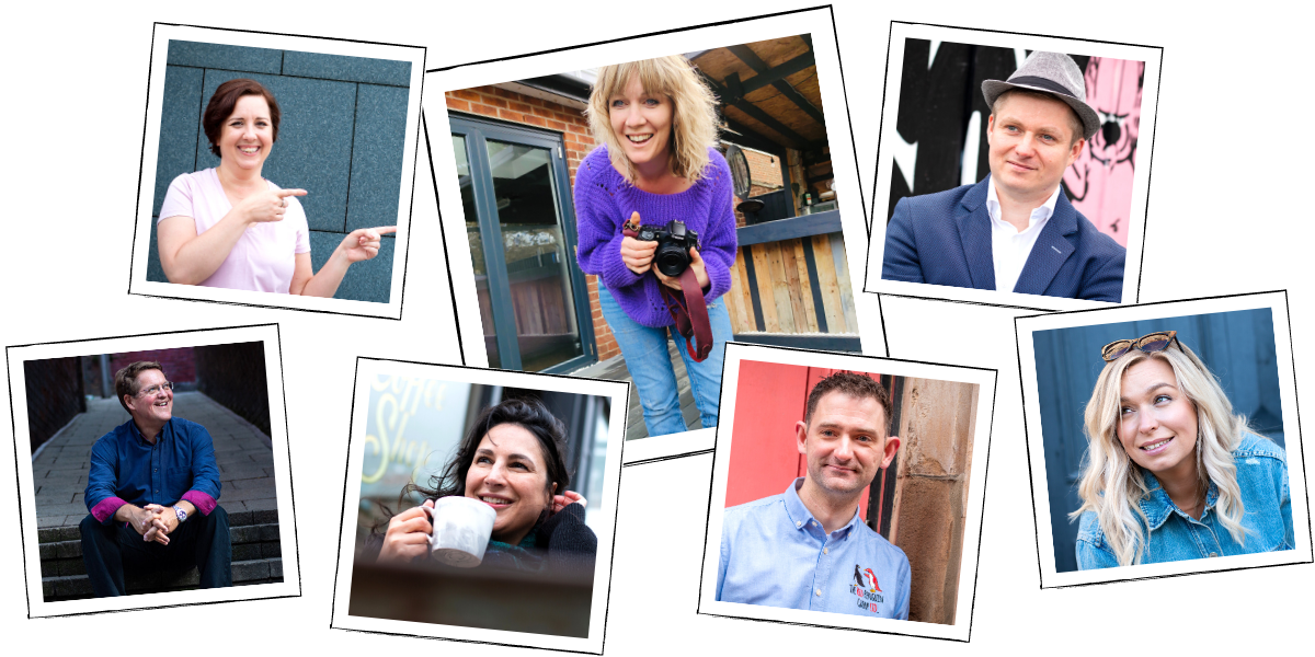 A variety of photos captured by Personal Branding Photographer, Gemma Wilks