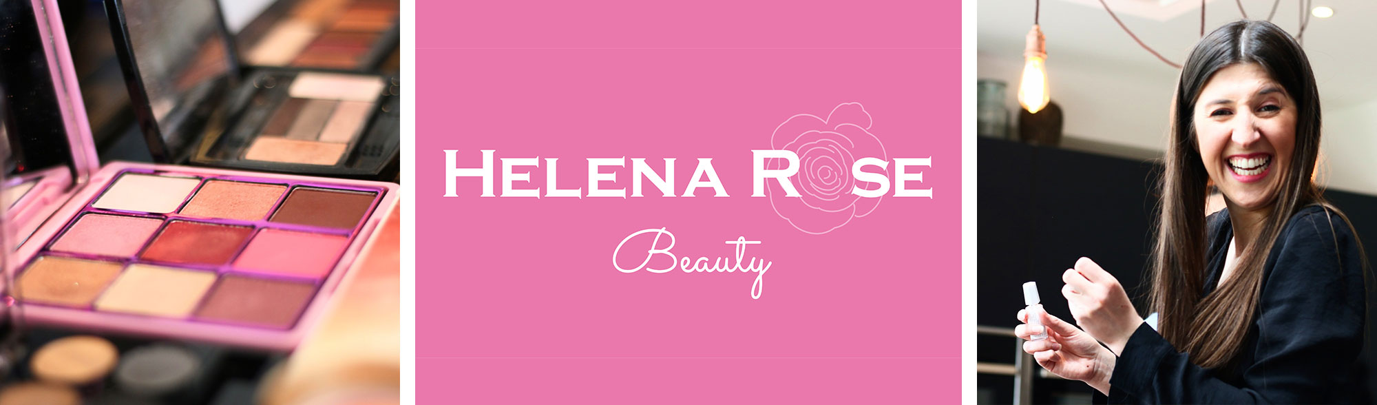 Brand and logo design for Helena Rose Beauty