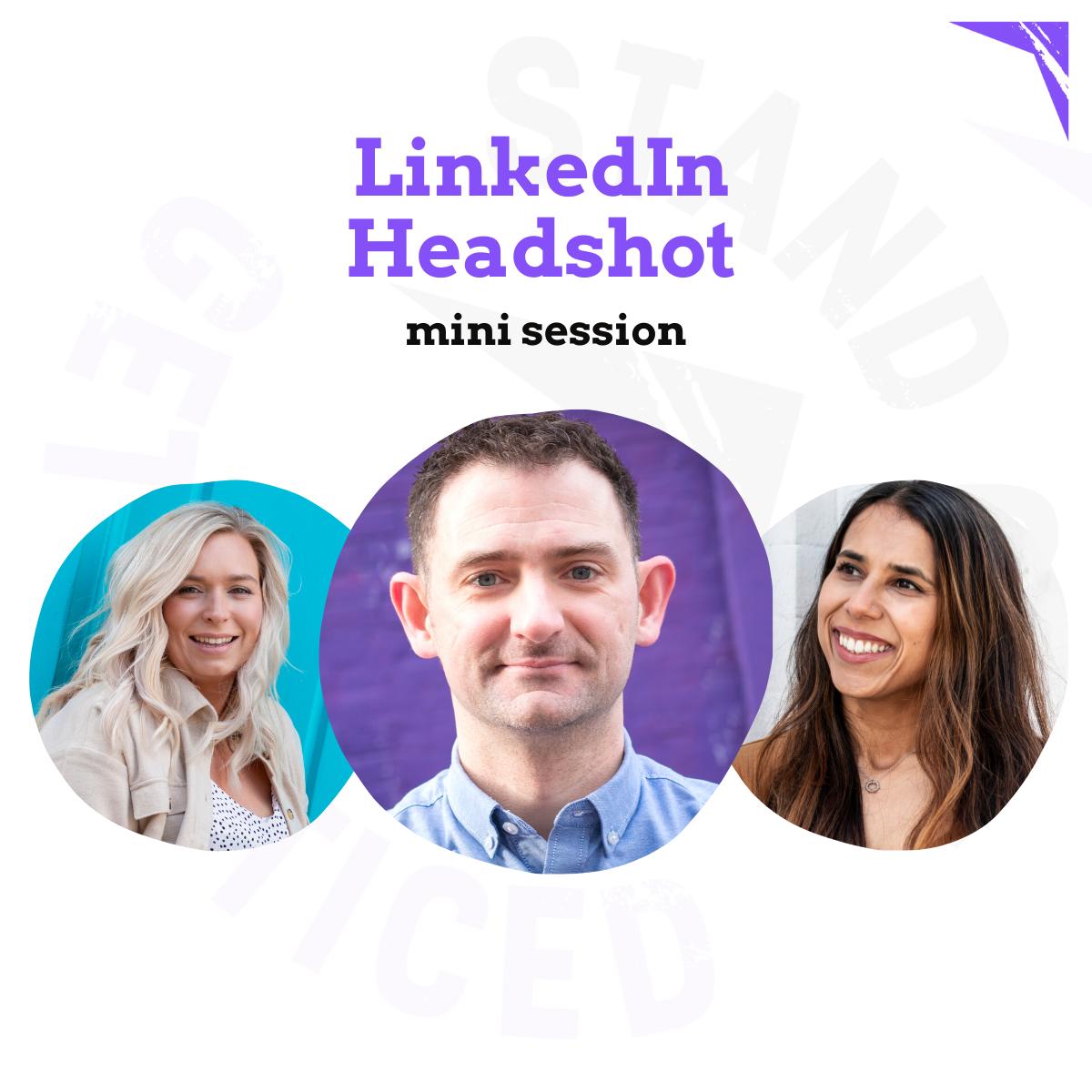 LinkedIn Headshot mini session
