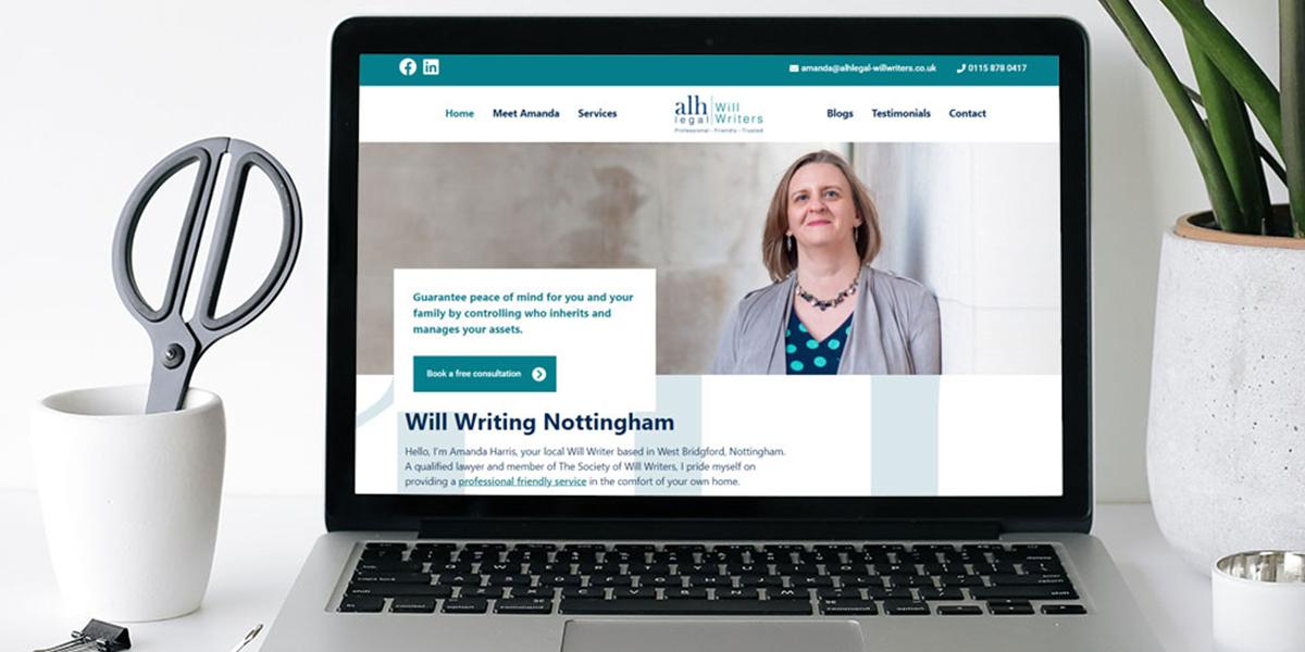 Building a new website