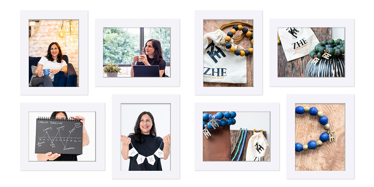 Visual content for small local businesses - personal brand photography and product photography